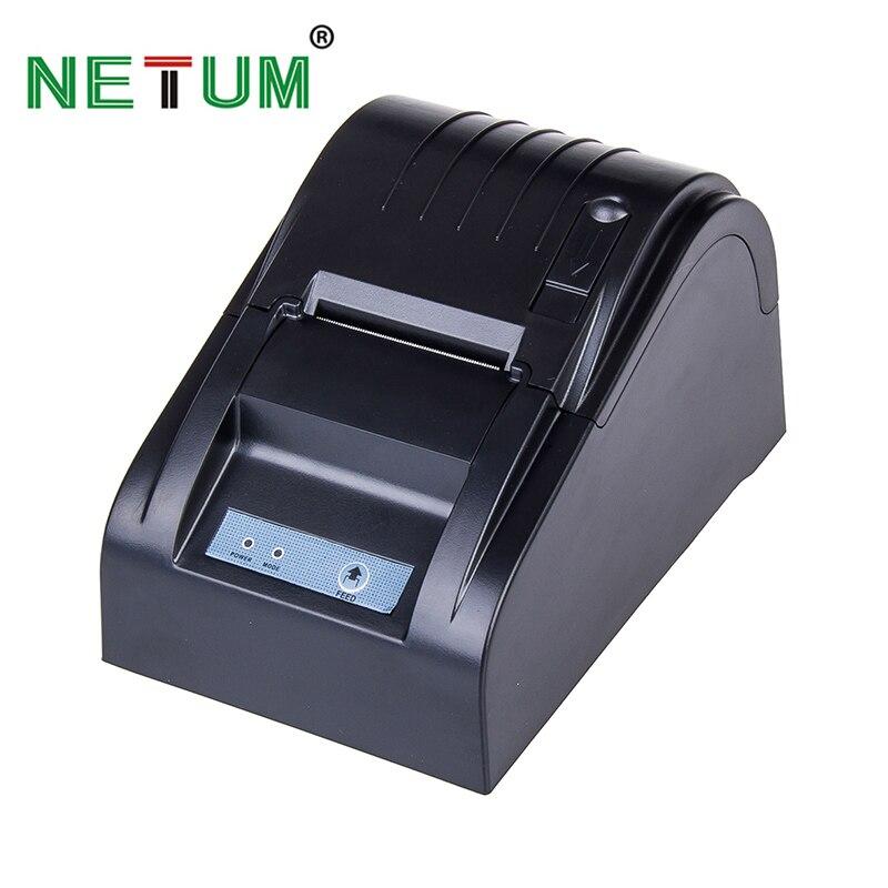 NETUM NT-1890T 58mm Thermische Bluetooth Drucker USB Thermische Empfang Drucker RS232 POS Drucker für Restaurant und Supermarke
