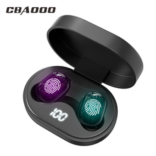Buy CBAOOO J15 Bluetooth earphones TWS 5.0V true wireless stereo 6D Gaming headphone sports waterproof headset with dual microphone directly from merchant!
