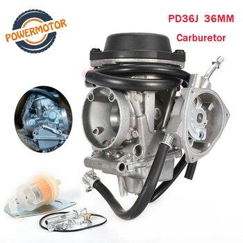 Motorcycle PD36J 36mm Carburetor QUAD ATV KFX 400 KFX400 2003~2006 UTV LTZ LTZ400 Raptor Quad