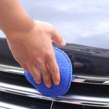 Полировка автомобиля губка Блок Губка коврик с ручкой покрытие автомобиля кристалл полировка ручной инструмент комплект полировка Аппликатор колодки очистки автомобиля