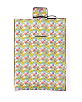 Outdoor Picnic Blanket Extra Large Sand Proof Waterproof Portable Beach Mat For Camping Hiking Festivals Beach Yellow