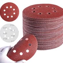 Sandpaper-Sanding-Disc Metal Aluminium-Oxide for Auto Wood 8-Holes 60-To-1200 60-To-1200