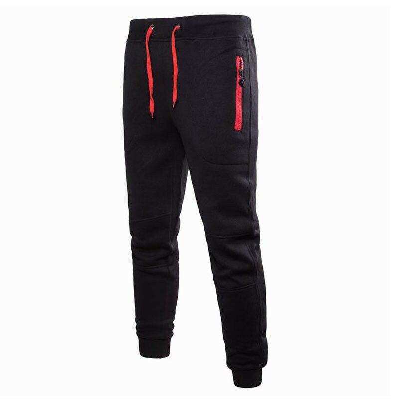 Mens Sport Pants Long Trousers Men Casual Tracksuit Gym Sweatpants Fitness Workout Joggers