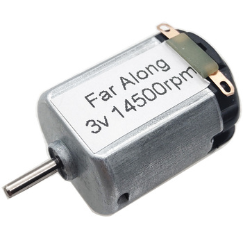 130 Mini DC High Speed Motor 3V 14500RPM Use For Mini DIY Fan And Electric Toy Car Motors Or Small Electric Grinder etc. image