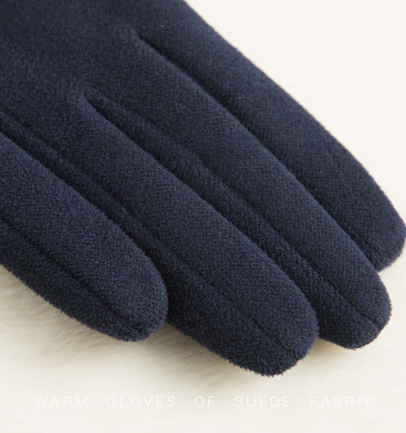 SPARSIL Windproof and Warm Touch Screen Gloves Made of Velvet Suitable for Any Touch Screen Device 14