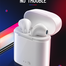 mini bluetooth headsets wireless earbuds i7s TWS Stereo Earphone with Microphone