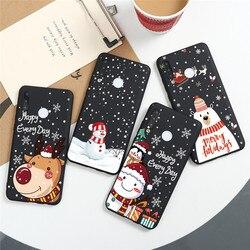 Christmas Gift Case For Huawei P40 Lite E P Smart Z 2019 2020 Mate 10 20 P8 P9 P30 P20 P10 Lite Pro Plus 2017 Nova 3 5t 6 se TPU