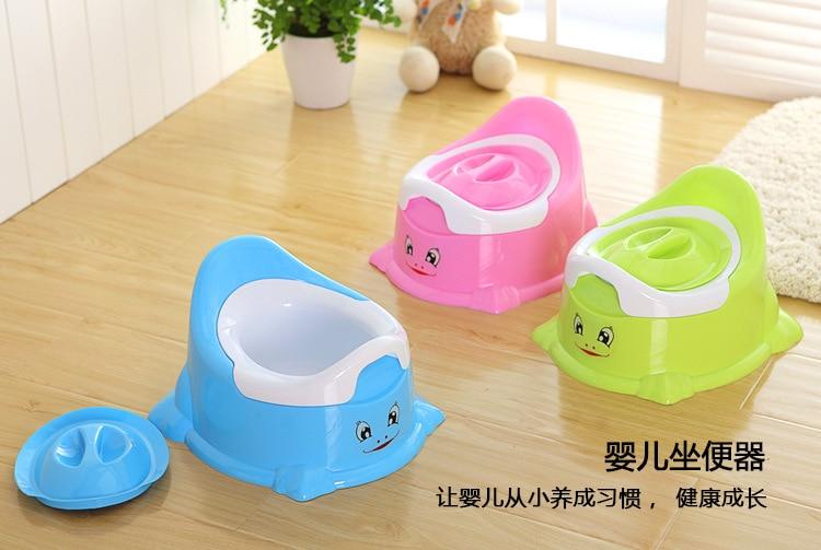 Haitong Kids CHILDREN'S Toilet Cartoon Pedestal Pan Infant Men And Women Baby Simplicity Infants Leak-Proof Urinal
