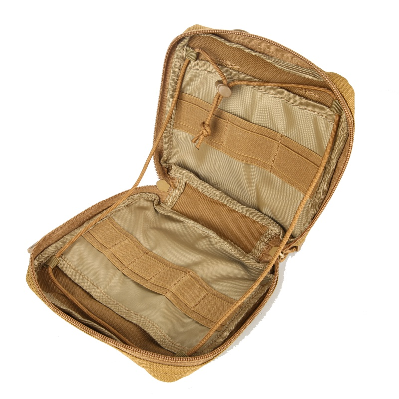 Military MOLLE Admin Pouch Tactical Multi Medical Kit Bag Utility Tool Belt EDC Pouch For Camping Hiking Hunting