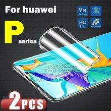 For Huawei p40 lite screen protector p smart 2021 2019 p20 p30 pro nova 5t p40lite p40pro psmart p30lite lit light soft flim