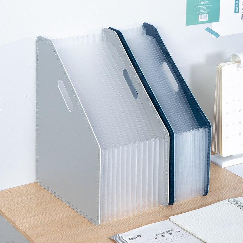 Desk File Folder Document Paper Organizer Storage Holder Multilayer Expanding Box School Office Stationery