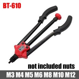 Image 4 - Hifeson Rivet Nut Tool Insert Handleiding Klinkhamer Schroefdraad Moer Klinken Rivnut Tool Voor Noten M3 M4 M5 M6 M8 M10 m12