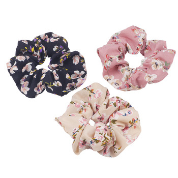Scrunchi Hair Band Women Rubber Elastic Hair Bands Summer Print Floral Rope Scrunchies Ponytail Gum For Girl Hair Accessories high resilience seamless hair rope new rubber band hair accessories gum girls women ponytail elastic hair bands headwear