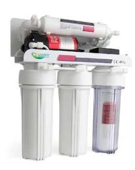 Esli 5A-WP Pump Tezgahaltı Reverse Osmosis RO 5 Stage Water Purifier title=