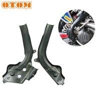 OTOM Motocross X Grips Frame Guards Frameguards Plastic Protector Cover For KTM SX SXF EXCF 125 250 350 450 HUSQVARNA TE FE FC