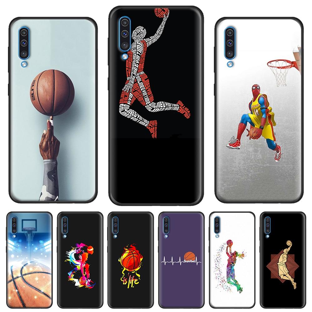 Sport Basketball Art Cover Case For Samsung Galaxy A10 A10e A20 A20e A30 A40 A50 A70 A80 A11 A21 A31 A41 A51 A71 A91 Back Shell