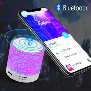 Image 4 - Led Mini Portable Wireless Bluetooth Speaker with Mic Usb Mp3 Subwoofer Speaker for Phone Computer
