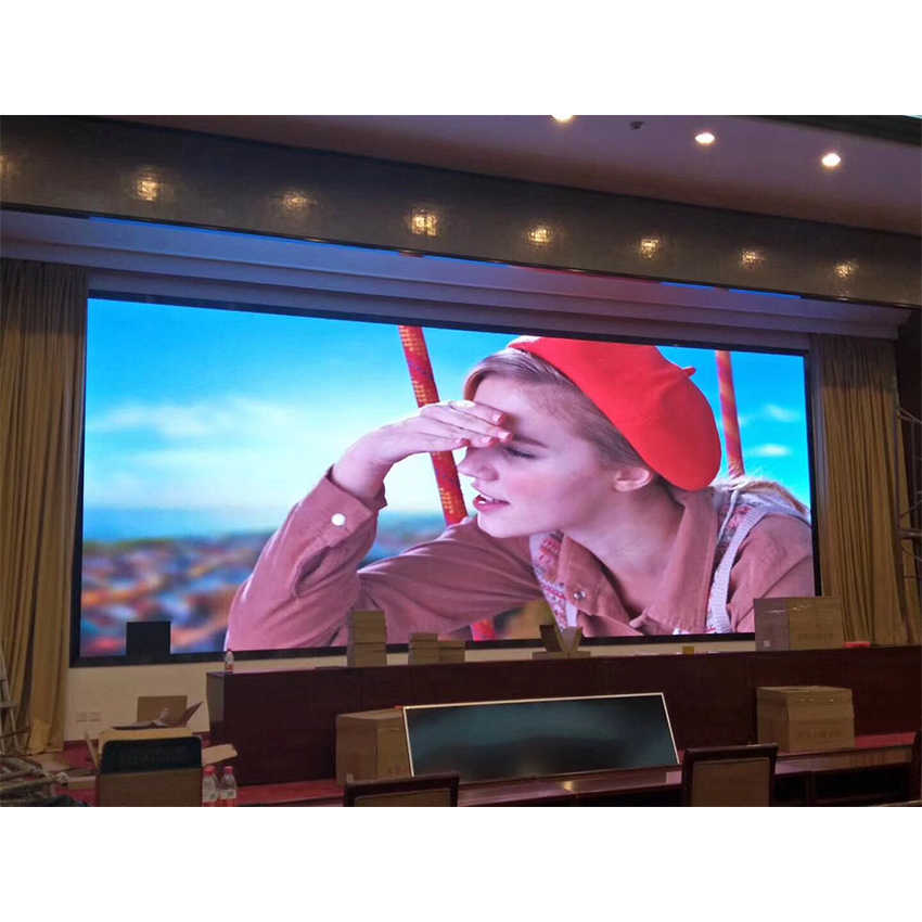 P2 SMD1515 LED Modul 128*128 Mm 64X64 Piksel 1/32 Scan Indoor RGB Full Color 2 Mm MODUL UNTUK LED Display Layar LED Panel