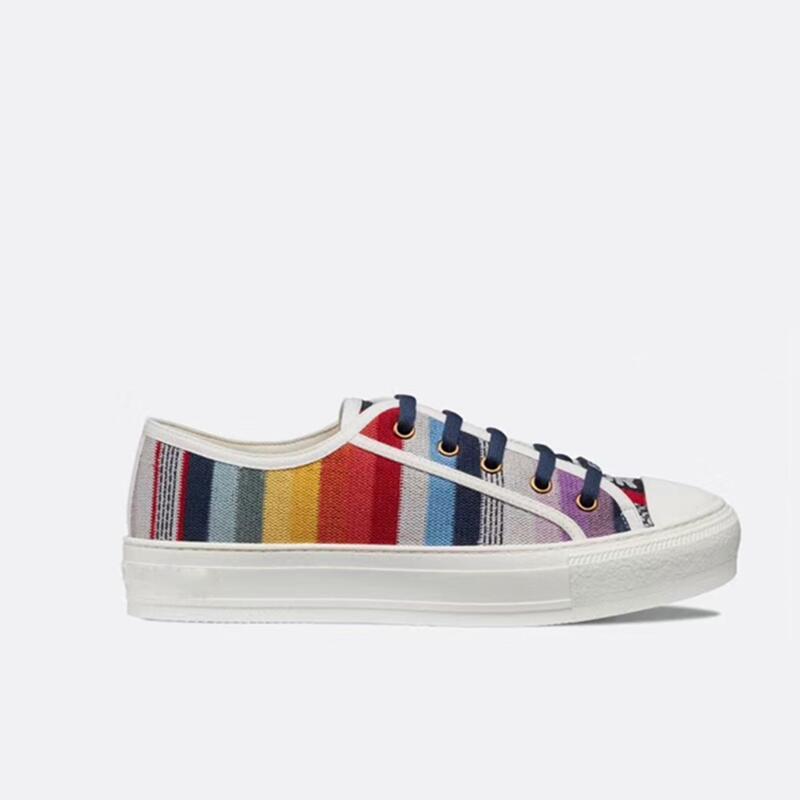 Woman Espadrilles Platform Flat Shoes 2019 Fashion Multicolor Creepers Platform Shoes Canvas High Quality Breathable Size 35-40
