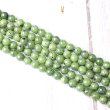 Plus Jade Natural Stone Beads For Jewelry Making Diy Bracelet Necklace 4/6/8/10/12 mm Wholesale Strand