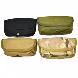 Tactical Pistol Molle 12 Gauge Mag Pouch Military 12G Shotgun Cartridges Bullet Case Hunting Portable Shell Holder Carrier Pouch
