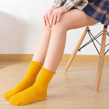 Spring Summer Candy Colors Cute Socks Lace Ruffles Soft Cotton Women Sweet Princess Girl Cozy Lovely Frilled