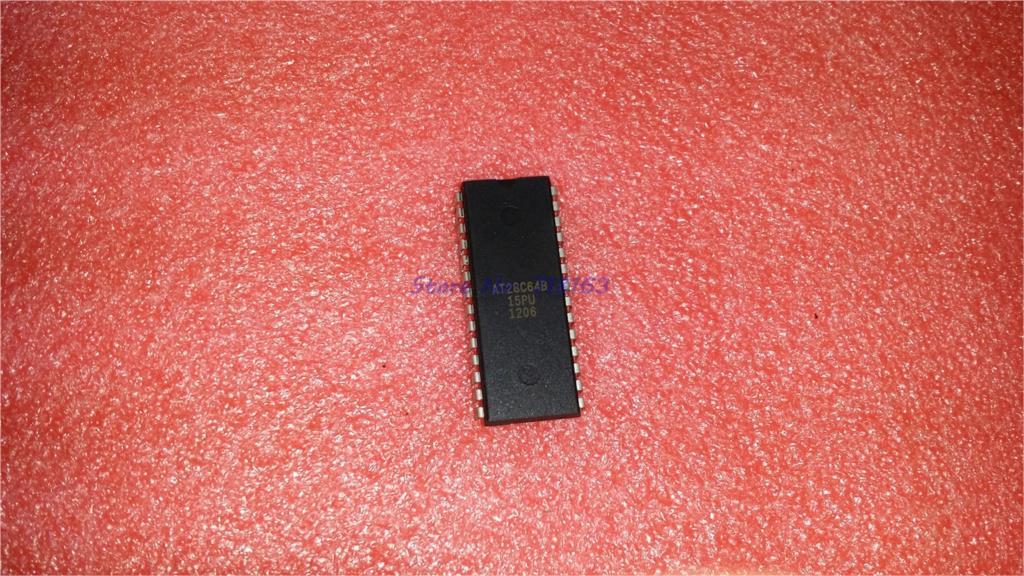 1pcs/lot AT28C64B-15PU AT28C64B-15PC AT28C64B AT28C64 28C64 DIP-28 In Stock