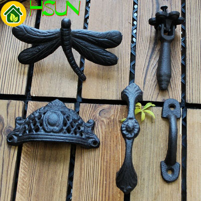 Handle Wardrobe Cast Iron Cupboard Handle Drawer Dragonfly Crown Handle Wrought Iron Small Handle Cabinet Door Pull Wine Cabinet