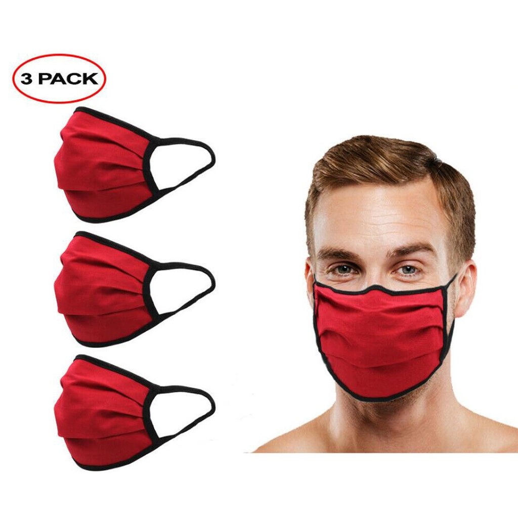 3pcs Washable Reusable Face Mask Outdoor Youre Too Mouth Cover Protective Double Layer Red Fashion Masks Mascara Protectora