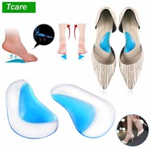 цены 1Pair Professional Orthotic Arch Support Insole Flat Foot Flatfoot Corrector Shoe Cushion Insert Foot Arch Brace