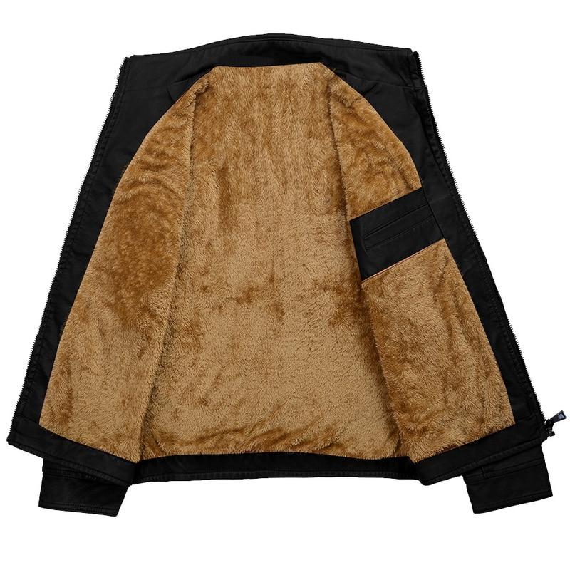 H4cbb2cf7ab2f498ca856557358ca1029k Luxury 2019 Leather Jackets Men Autumn Fleece Zipper Chaqueta Cuero Hombre Pockets Moto Jaqueta Masculino Couro Slim Warm Coat