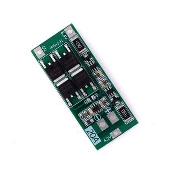цена на 2S 20A 7.4V 8.4V Li-Ion Lithium Battery 18650 Charger Pcb Bms Protection Board