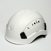 Outdoor Large Field Of Vision And High Altitude Rescue Helmet For Mountaineering And Climbing At Construction Site