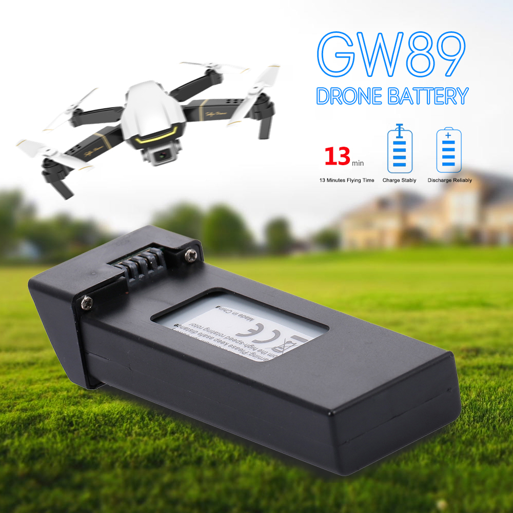 <font><b>3.7V</b></font> <font><b>1200mAh</b></font> <font><b>Lipo</b></font> <font><b>Battery</b></font> for GW89 RC Drone Helicopter Spare Parts <font><b>Battery</b></font> image