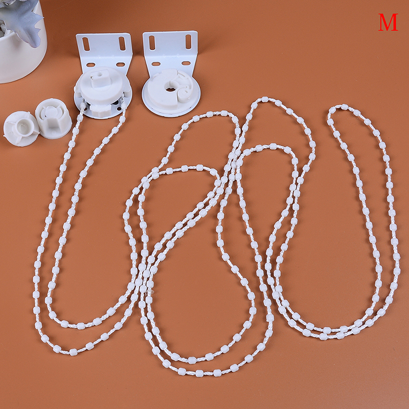 28mm/38mm Bead Cluth Control Ends Bracket Chain Window Treatments Hardware Roller Blind Shade Kit Home Decor Curtain Accessories