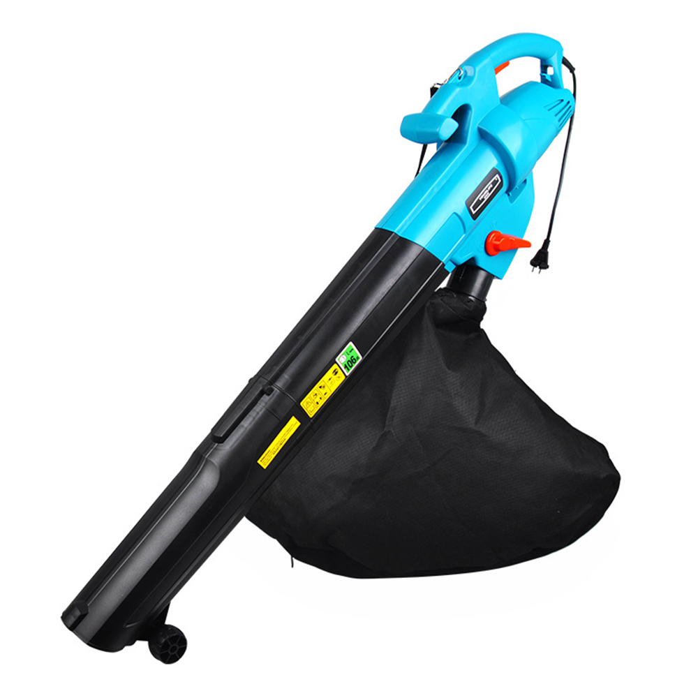Electric Blower Leaf Vacuum 3 In 1 Multi-function Electric Garden Leaf Blower With 45L Collection Bag Leaf Snow Mulcher 3000W