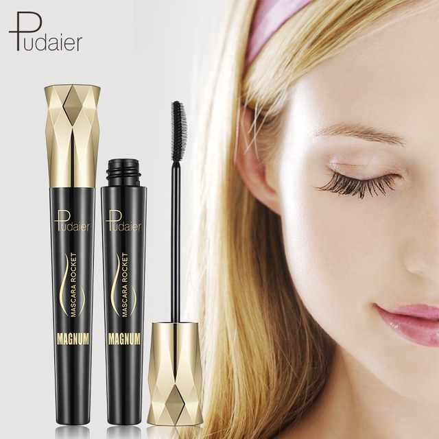 Pudaier 4D Charm Mascara Volume Waterproof Lash Extensions Makeup Silk Graft Growth Fluid Professional Rimel for Eye 1