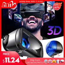 VRG Pro 3D VR okulary wirtualna rzeczywistość pełny ekran wizualne szerokokątne okulary VR dla 5 do 7 cali Smartphone okulary urządzenia tanie tanio willkey Blu-ray coated lenses Brak Smartfony CN (pochodzenie) Lornetka Wciągające Virtual Reality VRG Pro 3D VR Glasses