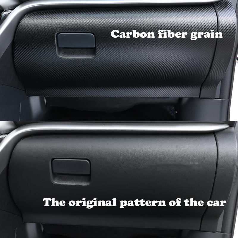 Car Styling Copilot Trim Anti Kick Pad Anti dirty Pad Door Protection Accessrioes For Mitsubishi eclipse cross 2018 in Interior Mouldings from Automobiles Motorcycles