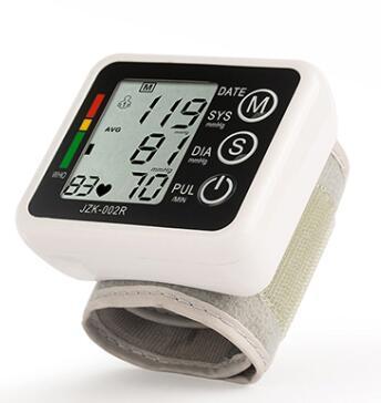 Digital LCD Wrist Blood Pressure Monitor High Accuracy Measuring Apparatu Health Care Battery Automatic Blood Pressure Measuring