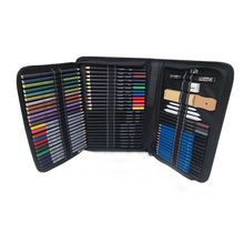 Drawing-Pencils-Set Sketch Art-Supplies Watercolor Canvas-Case with 72PCS Beginner-Kit