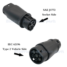 Connector Charger Sae J1772 Zoe-Type Tesla-S/X-Renault for New