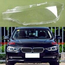 غطاء المصباح الأمامي قذيفة غطاء شفاف عاكس الضوء كشافات قذيفة لسيارات BMW 3 Series 2013 2014 2015 320 328 316 335