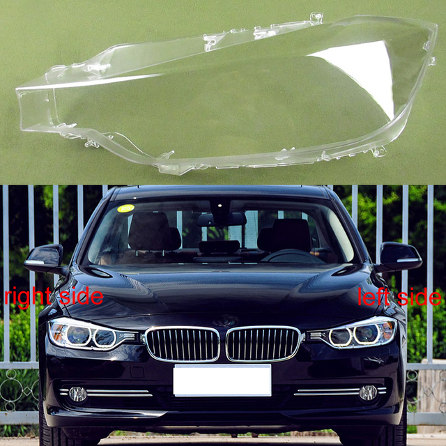 Headlight Cover Headlights Shell Transparent Cover Lampshade Headlamp Shell For BMW 3 Series 2013 2014 2015 320 328 316 335