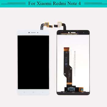 3PCS Complete display For Xiaomi Redmi note 4 hongmi note4 full LCD Display touch screen Assembly Free Shipping