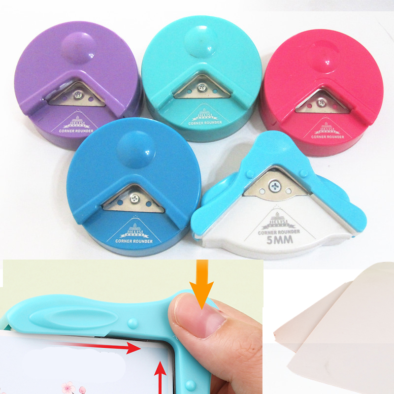 Corner Rounder 4-12mm Paper Punch Card Photo Cutter Tool
