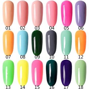 12 Color Gel Nail Polish Varnish Extension Kit with 15pcs/36pcs Led Uv Nail Lamp Kit for Manicure Set Acrylic Nails Art Tools 3