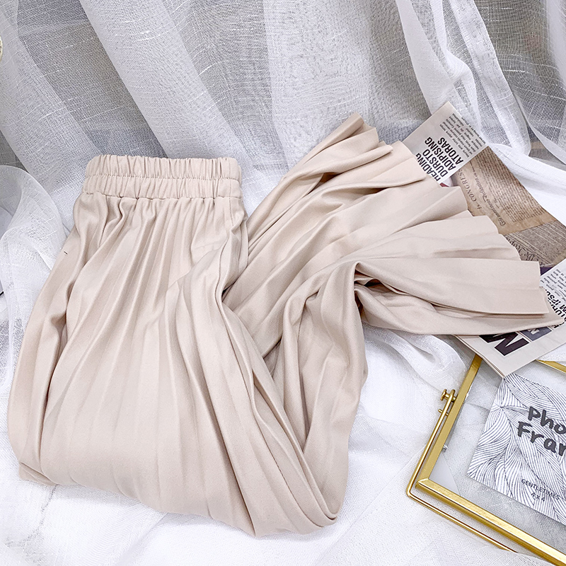2021 nowych kobiet spódnica linii Stretch wysokiej talii Pure Color kobiety długa spódnica Femme Faldas Jupe Saia spódnica letnia dla kobiet
