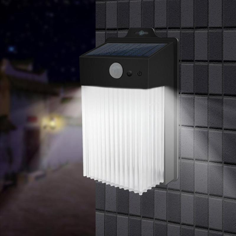50 LED Solar Light Outdoor Solar Lamp PIR Motion Sensor Wall Lamp Waterproof Sunlight For Garden Fence Sensing Street Lights