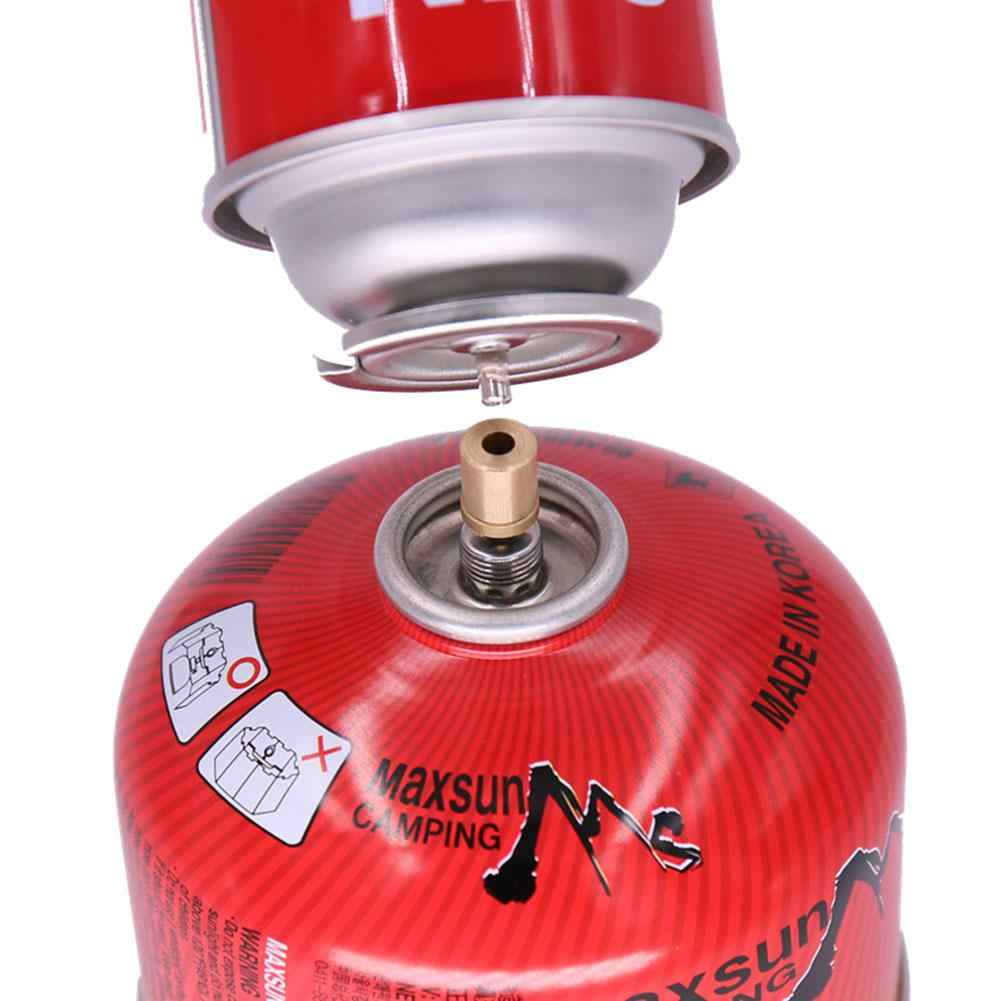Senderismo inflar depósito de butano adaptador para recarga de Gas al aire libre Camping estufa cilindro de Gas tanque de Gas accesorios para quemadores